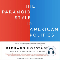 The Paranoid Style in American Politics