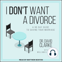 I Don't Want a Divorce