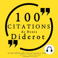 100 citations de Diderot
