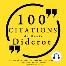 100 citations de Diderot