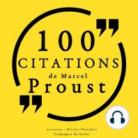 100 citations de Marcel Proust