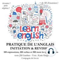 Do you speak english ? Initiation et révision de votre pratique de l'anglais Expressions verbes et mots les plus courants