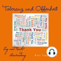 Toleranz und Offenheit