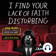 I Find Your Lack of Faith Disturbing