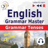 English Grammar Master: Grammar Tenses: New Edition: Intermediate / Advanced Level: B1-C1