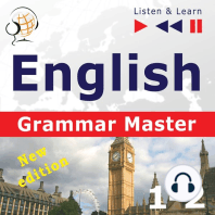 English Grammar Master: Grammar Tenses & Grammar Practice: New Edition: For Intermediate / Advanced Learners - Proficiency Level B1-C1