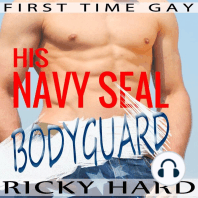 First Time Gay - His Navy Seal Bodyguard