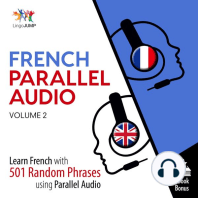 French Parallel Audio - Learn French with 501 Random Phrases using Parallel Audio - Volume 2