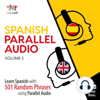 Spanish Parallel Audio