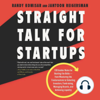 Straight Talk for Startups