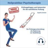 Heilpraktiker Psychotherapie - Prüfungsfragen und Antworten für die schriftliche Prüfung