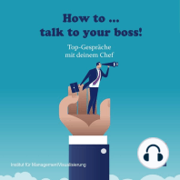 How to talk to your boss!