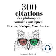 300 citations des philosophes romains antiques