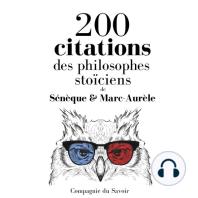 200 citations des philosophes stoïciens