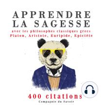 Apprendre la sagesse avec les philosophes classiques grecs 400 citations