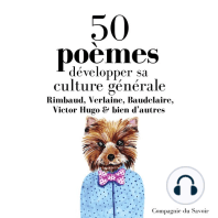 Développer sa culture générale avec 50 poèmes classiques