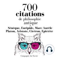 700 citations de philosophie antique