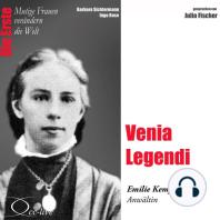 Die Erste - Venia Legendi (Emilie Kempin-Spyri, Anwältin)
