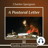A Pastoral Letter