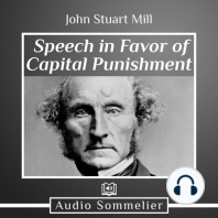 Speech in Favor of Capital Punishment