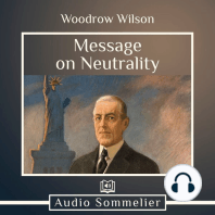 Message on Neutrality