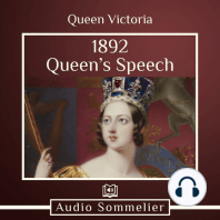 1892 Queen's Speech