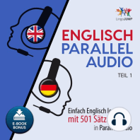 Englisch Parallel Audio - Einfach Englisch lernen mit 501 Sätzen in Parallel Audio - Teil 1