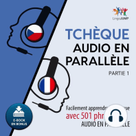 Tchèque audio en parallèle - Facilement apprendre le tchèque avec 501 phrases en audio en parallèle - Partie 1