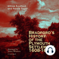 Bradford's History of the Plymouth Settlement, 1608-1650