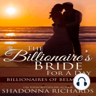 Billionaire's Bride for a Day, The - Billionaires of Belmont Book 1