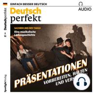 Deutsch lernen Audio - Präsentationen