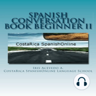 Spanish Conversation Book for Beginners II