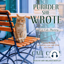 Purrder She Wrote: A Cat Café Mystery