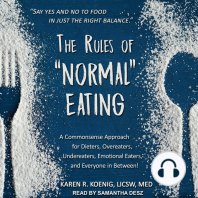 "The Rules of ""Normal"" Eating"