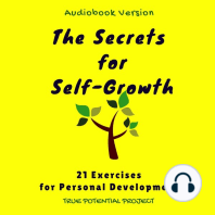The Secrets for Self-Growth: 21 Exercises for Personal Development