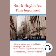 Stock Buybacks