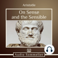 On Sense and the Sensible