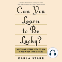Can You Learn to Be Lucky?