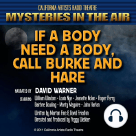 If a Body Need a Body, Call Burke & Hare
