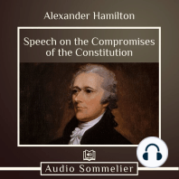 Speech on the Compromises of the Constitution
