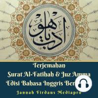 Terjemahan Surat Al-Fatihah & Juz Amma Edisi Bahasa Inggris Berwarna