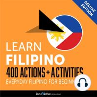 Everyday Filipino for Beginners - 400 Actions & Activities
