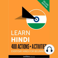 Everyday Hindi for Beginners - 400 Actions & Activities