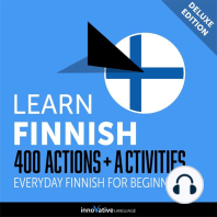 Everyday Finnish for Beginners - 400 Actions & Activities