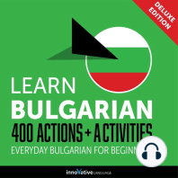 Everyday Bulgarian for Beginners - 400 Actions & Activities