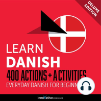 Everyday Danish for Beginners - 400 Actions & Activities