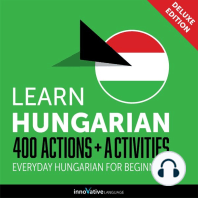 Everyday Hungarian for Beginners - 400 Actions & Activities