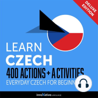 Everyday Czech for Beginners - 400 Actions & Activities