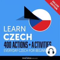 Everyday Czech for Beginners - 400 Actions & Activities