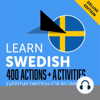 Everyday Swedish for Beginners - 400 Actions & Activities